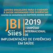 JBI Brasil SIIES 2019 – I Simpósio Internacional de Implementação de Evidências em Saúde (SIIES)
